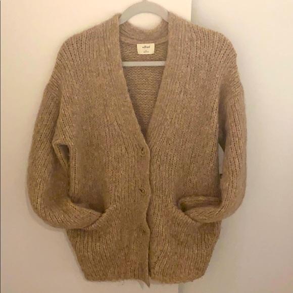Wilfred Alpaca Wool Cardigan
